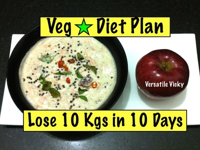How to Lose Weight Fast 10 kgs in 10 days. 1000 Calorie Weight Loss Plan