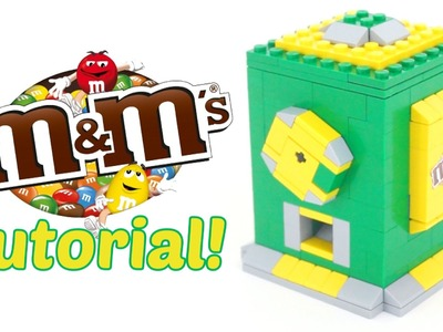 How to Make a Mini M&M's LEGO Candy Dispenser!