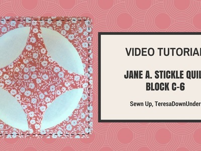 How to make Dear Jane block C-6