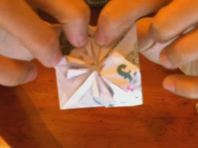 Making Heart Shaped Money - Origami