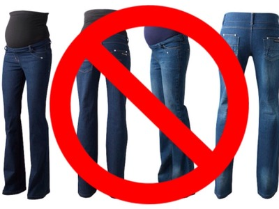 Maternity DIY: Making Your Favourite Jeans Fit!