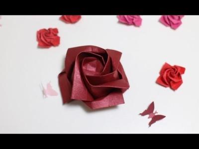 Origami Tutorial: Rosa | Rose