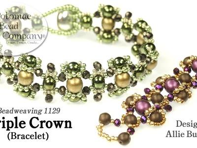 Triple Crown Bracelet (Tutorial)