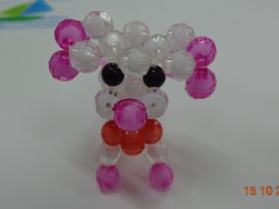 Tutorial How to Make a Beaded Dog-part 1-hướng dẫn kết cườm