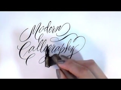 8. Pointed Pen Calligraphy 101: Modern Calligraphy Tips & Tricks