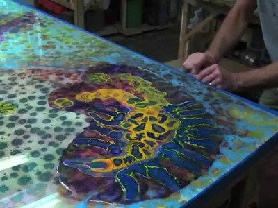 Amazing  - The Art Of Resin Paint by Bruce Riley