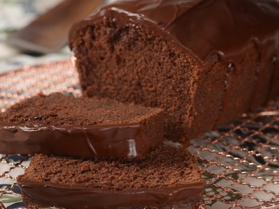 Chocolate Pound Cake Recipe Demonstration - Joyofbaking.com
