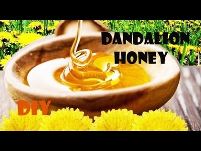 DIY: How to make DANDELION HONEY (great old recipe)