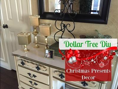 DOLLAR TREE DIY : Christmas Presents Decor | 2016