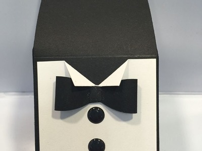 Father's Day Tuxedo Gift Box