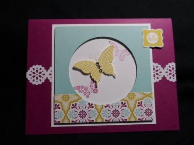 Faux Shadow Box Card