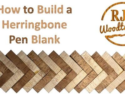 How to make a Herringbone Pen  Blank