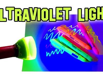 ✔ How to Make UV Black Light