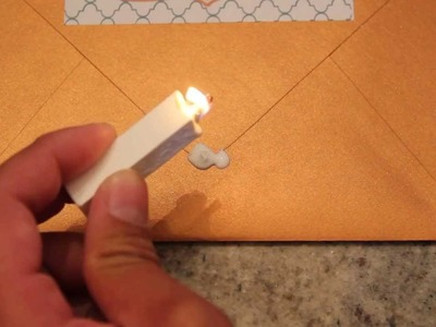 How to use a wax seal - invitations, weddings, letters, documents