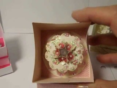 New cards and tea light cakes made by Crafty Carolina Gal