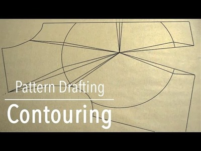 Pattern Drafting Tutorial - Contouring with Example