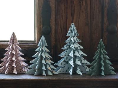 DIY: Christmas trees by Søstrene Grene