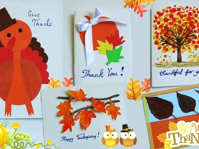 DIY THANKSGIVING Cards | Thanksgiving gifts idea | Thankful Cards | Super Easy DIY