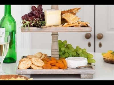 How to Build a Tiered Serving Tray - This Old House