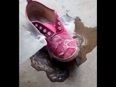 HOW TO  make your shoes waterproof with NO money !