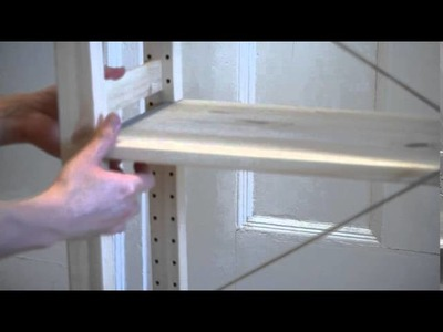 In 35 seconds, Ikea IVAR Shelving Unit Assembly