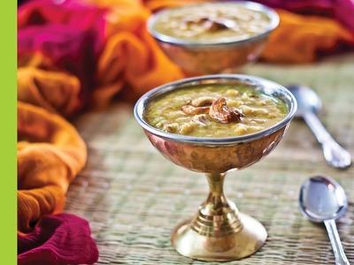 Parappu Payasam Recipe (Moong.Channa Dal Kheer) by Archana's Kitchen