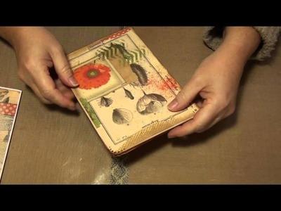Pt3- The making of a file folder journal