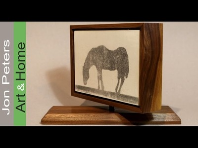 Simple Woodworking Project Rotating Framed Painting, a Makers Care Project