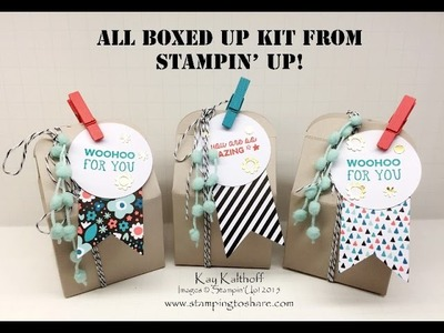 Stampin' Up! All Boxed Up Party Favors