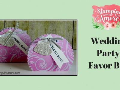 Wedding Party Favor Box