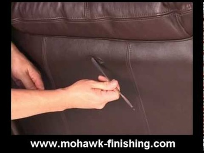 47-How to Repair Leather Scrapes and Abrasions by Mohawk Finishing Products.mpg