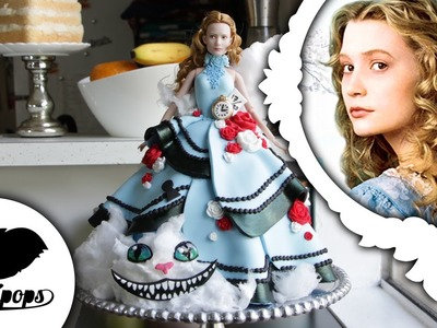 Alice in Wonderland Doll Cake | Through the Looking Glass | Collab w. Icing Artist
