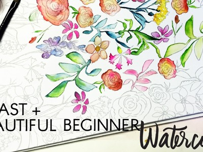 Beginner Watercolor Painting Tips for Beautiful, Quick Results