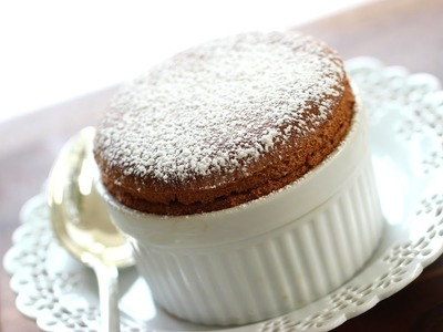 Beth's Foolproof Chocolate Soufflé | ENTERTAINING WITH BETH