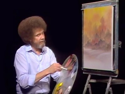Bob Ross - Snowfall Magic (Season 19 Episode 1)