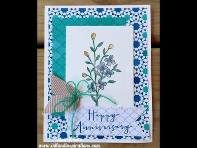 Coloring Technique with Stampin' Up! Touches of Texture