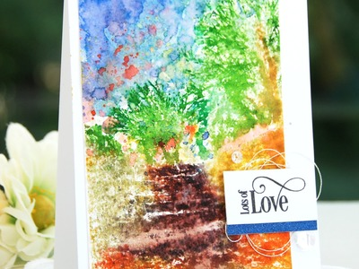 Create an Artistic Scene with MISTI and Zig Markers