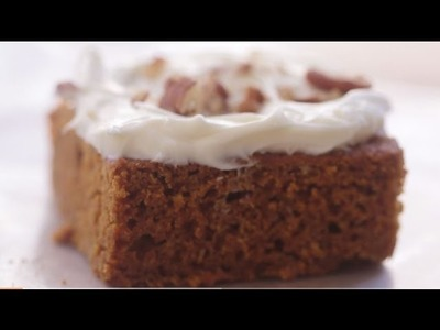 Dessert Recipes - How to Make Two-Ingredient Pumpkin Cake
