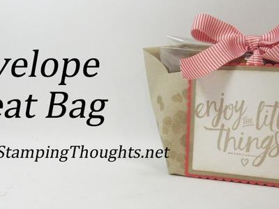 Envelope Treat Bag with Stampin'Up! Envelopes