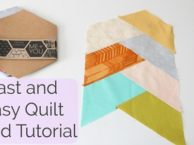Fast and Easy Quilt Braid Tutorial