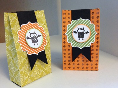 Halloween Treat Box Tutorial