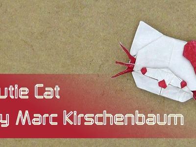 """Hello Kitty Origami Tutorial: """"Cutie Cat"""" by Marc Kirschenbaum"""