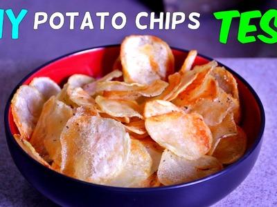 Homemade Potato Chips Test