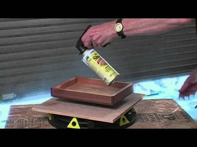 How to Apply an Aerosol Finish