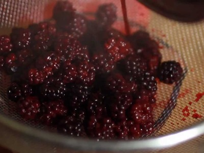 How To Make Homemade Blackberry Cordial