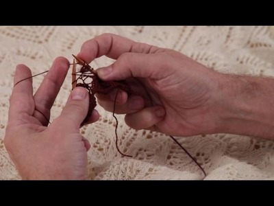 Learn to Knit a Nupp with Geoff Hunnicut