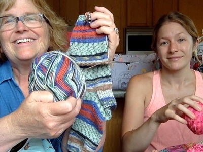 """LegacyKnitz Episode 25: """"the sky rats are out today"""""""