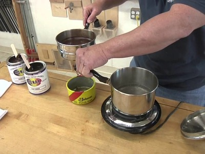 Making your own colored wax finish with Brian Miller