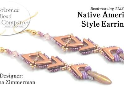 Native American Style Earrings (Tutorial)