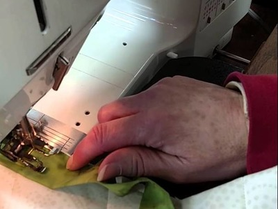 Quilting Tutorial - How to create Inverted Mitered Corners with Judy Niemeyer